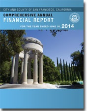 2014 CAFR Cover - Palace of Fine Arts Rotunda Dome