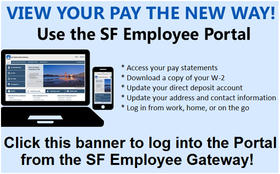 CCSF ePayroll – Online Pay Statements | Office of the Controller