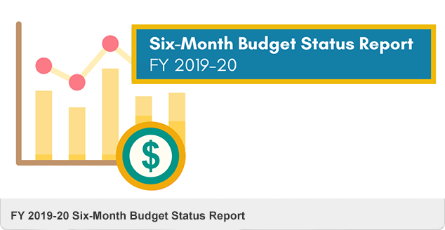 6-Month Budget Status Report FY2019-20 2/13/2020