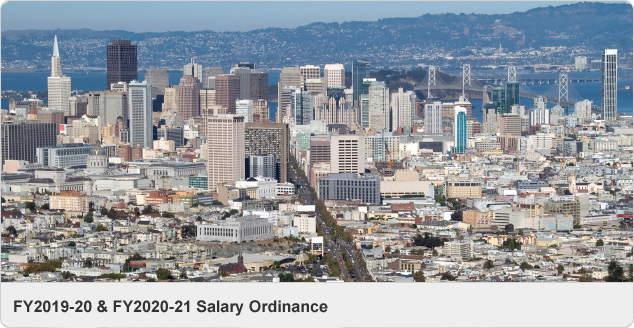 FY2019-20 & FY2020-21 Salary Ordinance